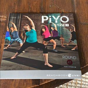 PiYo Live. Round 41